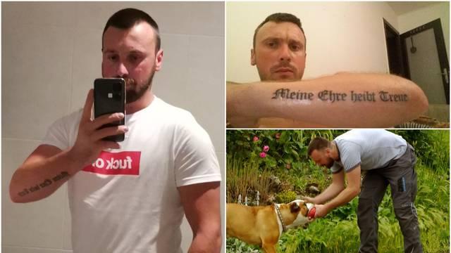 Osim nacističke tetovaže, Jurica štuje i knjigu 'Mein Kampf', a zaručnici je otkazao vjenčanje