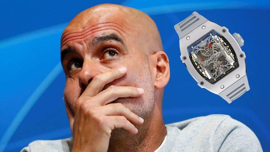 Pep došao na presicu sa satom vrijednim milijun i pol eura...