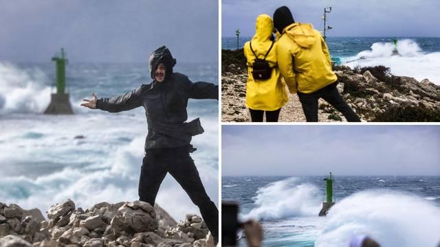 Nauživajte se ljepote i samo pogledajte galeriju slika nevremena s Punta Planka...