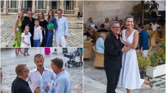 Izložba Lazićevih fotografija na Hvaru je zainteresirala publiku, a pojavio se i predsjednik UEFE