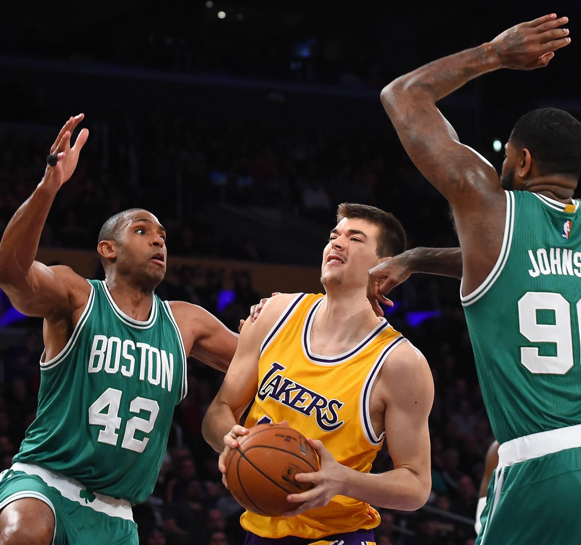 NBA: Boston Celtics at Los Angeles Lakers