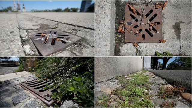 Šahtovi skrivaju tužnu istinu o Zagrebu: Tko će ih odčepiti do iduće kiše? Vjerojatno nitko...