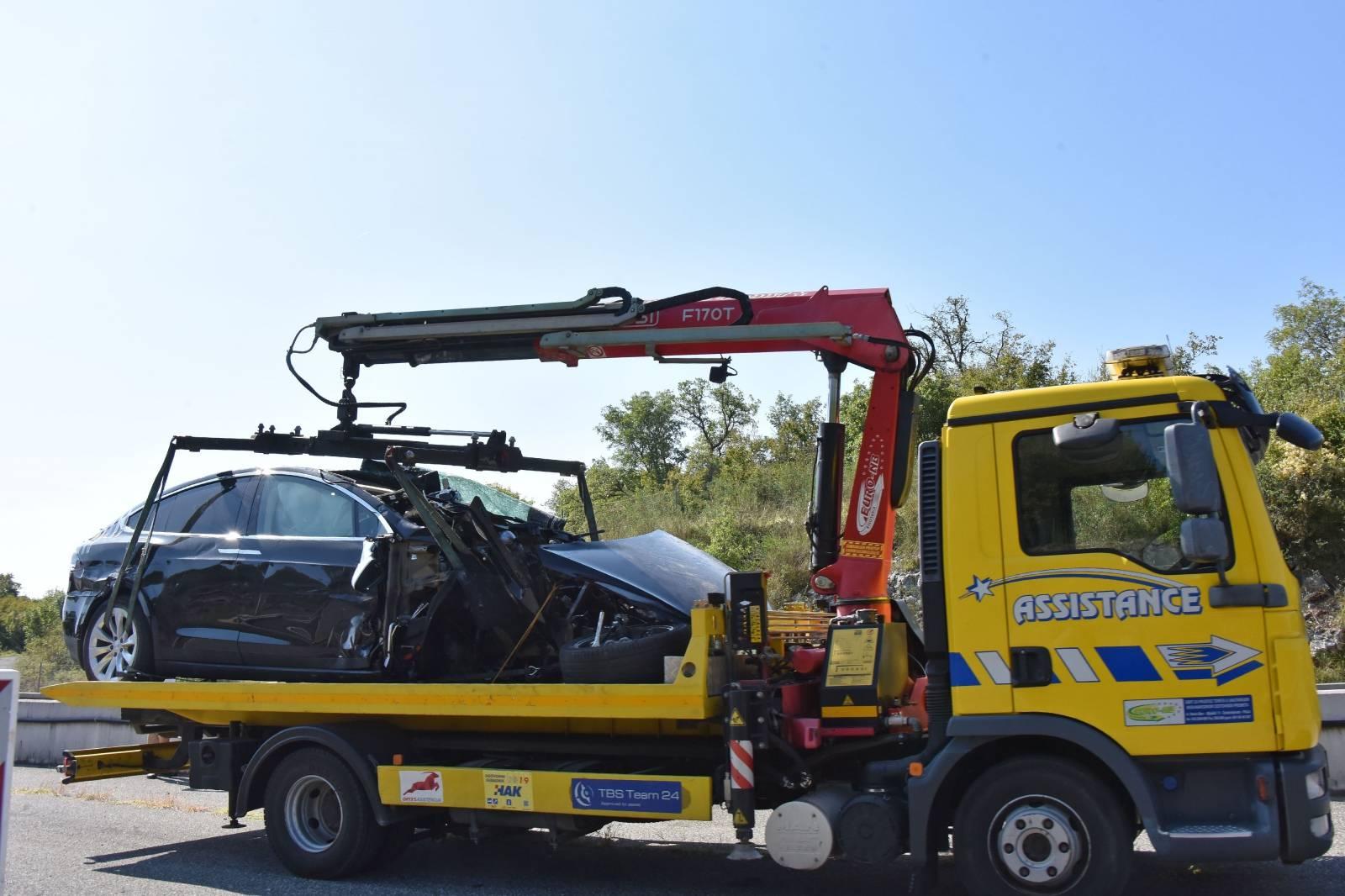 Limska draga: Jedna osoba ozlijeđena u prometnoj nesreći na istarskom ipsilonu