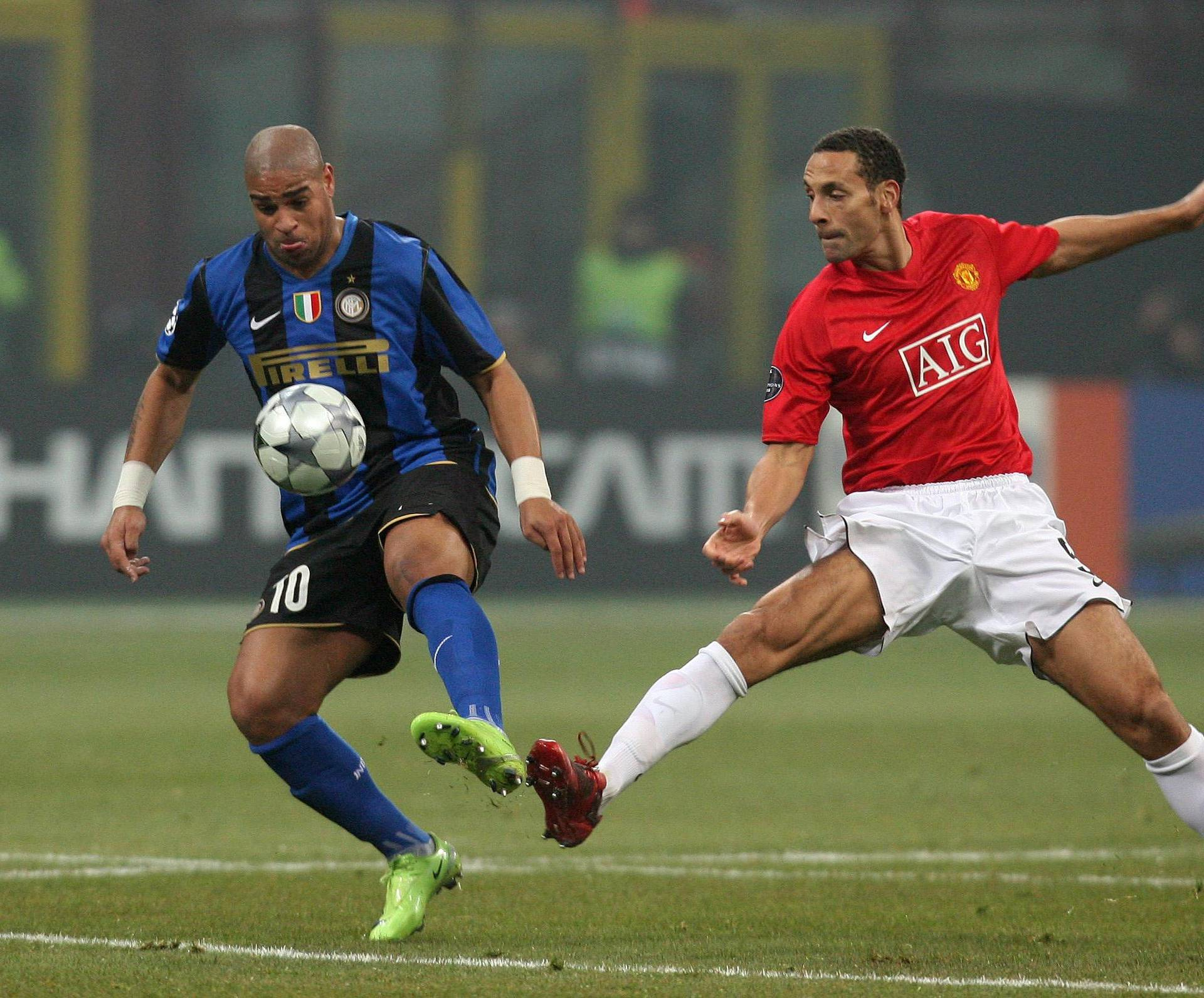 Soccer - UEFA Champions League - First Knockout Round - First Leg - Inter Milan v Manchester United - Stadio Giuseppe Meazza