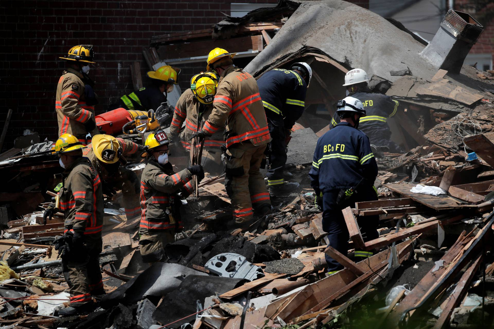 Jedan poginuli i troje kritično u eksploziji plina u Baltimoreu