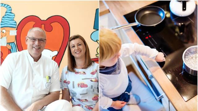 Kod opeklina, za djecu su kobne vruće peći, grijalice, pirotehnika