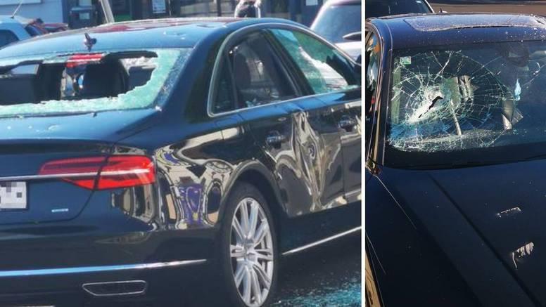 Zagreb: Bijesni radnik sjekirom je demolirao Audi. Mislio je da je šefov. Uništio je krivi auto!