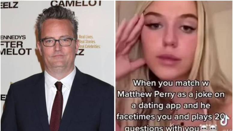 Zvijezda 'Prijatelja' zavodila 19-godišnjakinju na videopozivu: 'Jesam li ja star kao tvoj tata?'