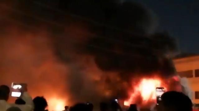 Užas u Iraku: Najmanje 39 ljudi poginulo u požaru covid bolnice