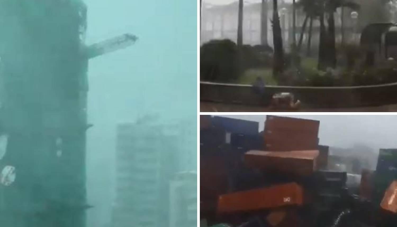 Dramatične snimke: Jak vjetar čovjeka brutalno zabio u zid
