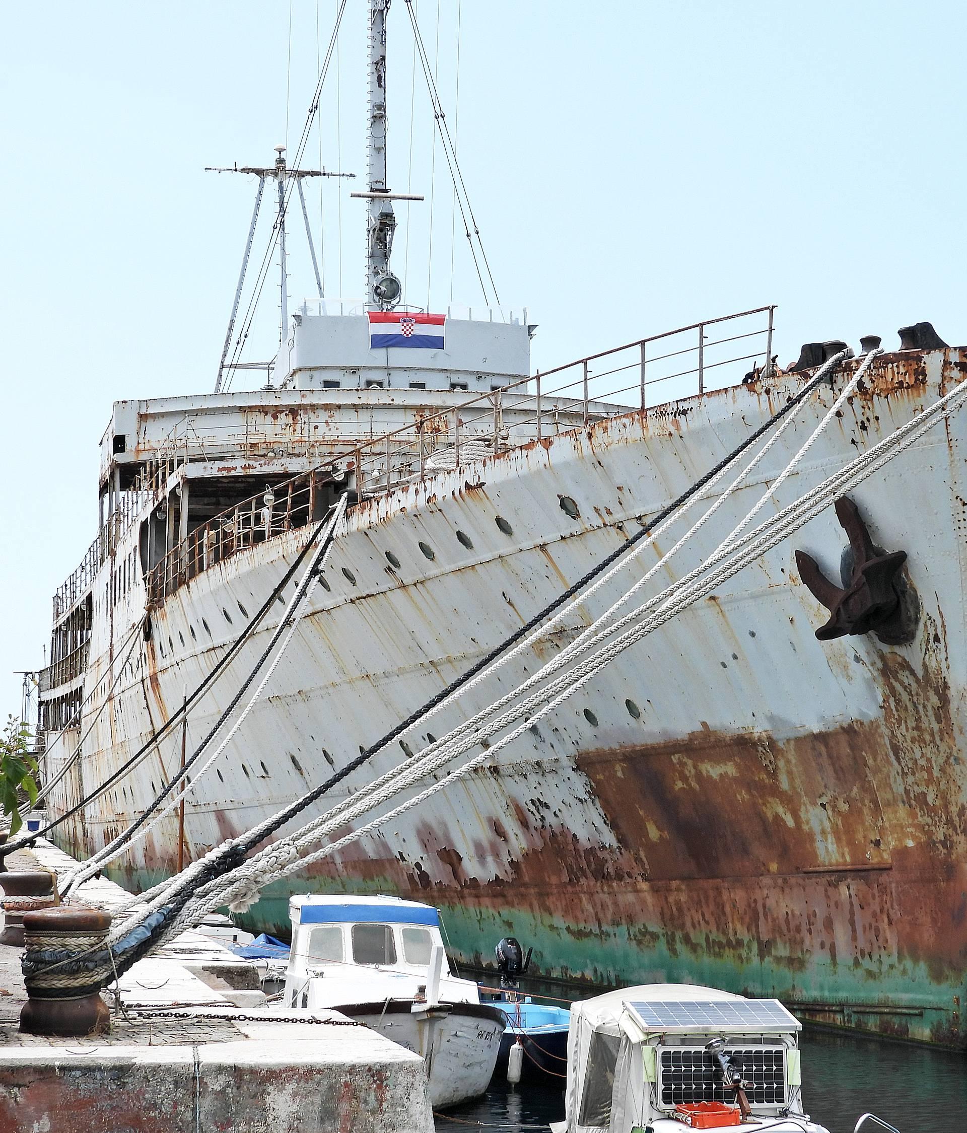 Odobren kredit za Titov brod: Podržali obnovu broda 'Galeb'