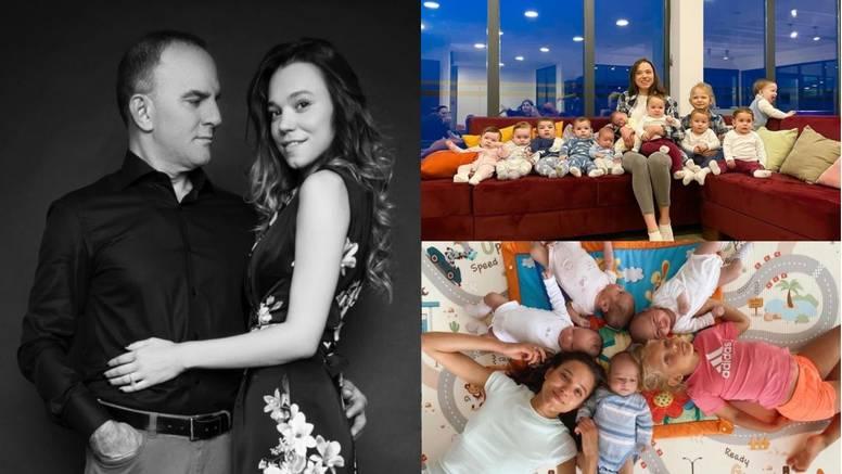 Ima 23 godine, 11 djece i muža milijunaša: Želim još puno beba