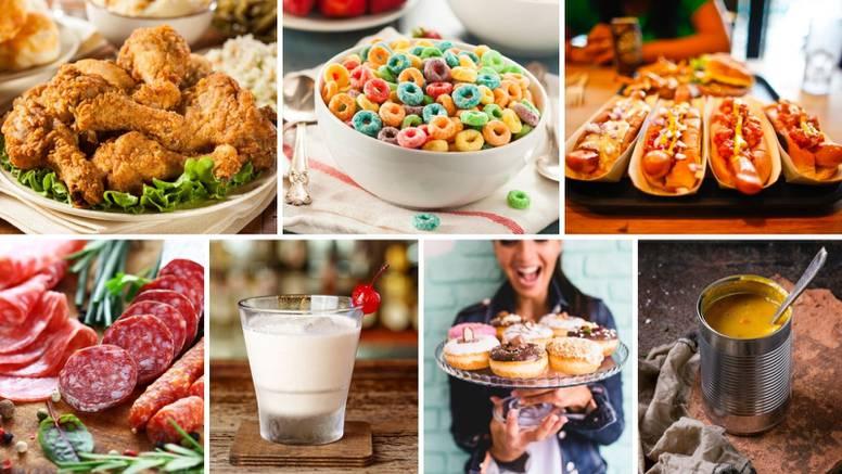 Evo koje namirnice izbjegavati želite li smršavjeti - njih 15