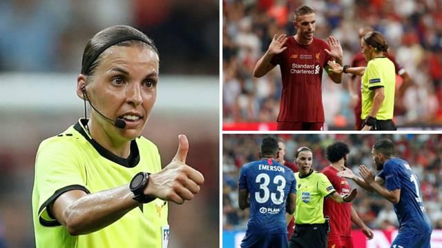 Ona je sudila Euro Superkup, oduševila je i Franka Lamparda