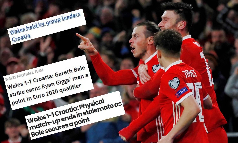 Velški mediji: Talisman Bale za bod protiv tvrdoglave Hrvatske