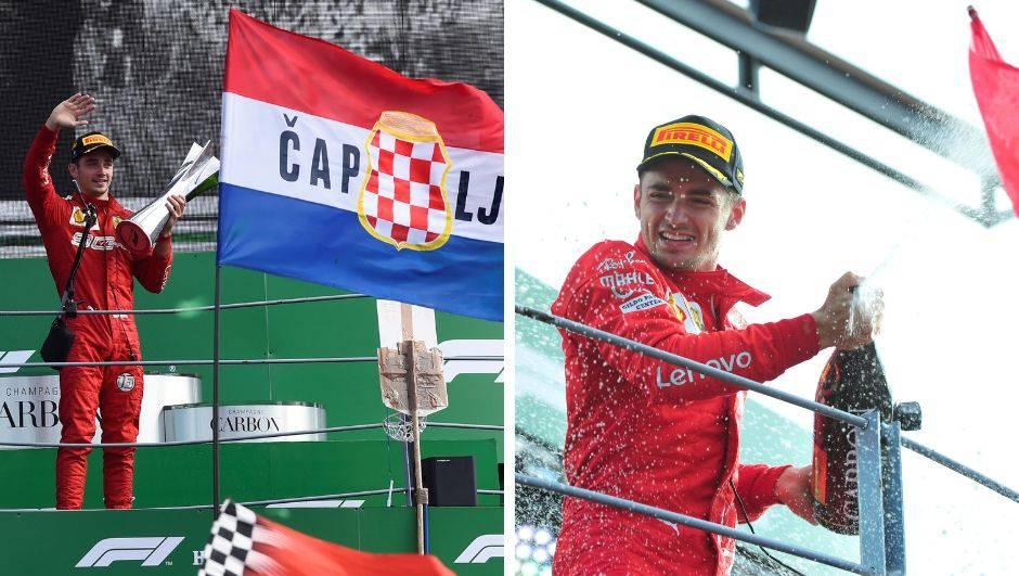 Ludilo u Monzi: Ferrari slavio kod kuće nakon devet godina!