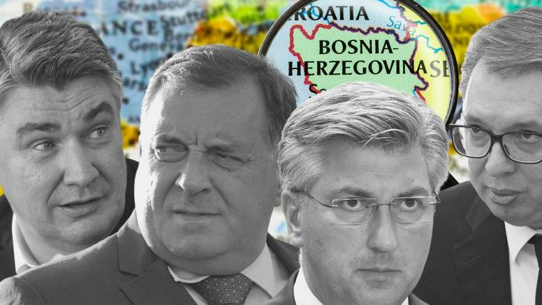 Milanovićeva politika prema BiH nastavak je Tuđmanove, a Plenkovićeva - Mesićeve...
