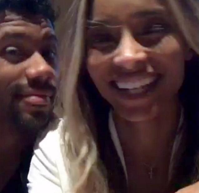Jedva je dočekala prvu bračnu noć: Ciara se pohvalila videom