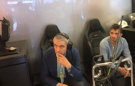 Mr. Bean na Velikoj nagradi Mađarske u boksu Mercedesa