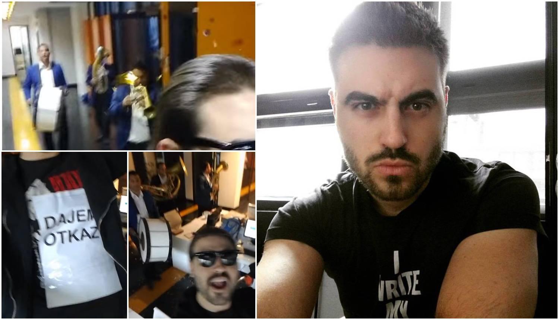 BB Nemeš unajmio trubače koji su svirali dok je on davao otkaz