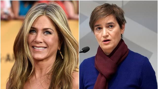 Aniston je u najmoćnije žene svijeta stavila Anu Brnabić: Srbi su se počeli sprdati na Twitteru
