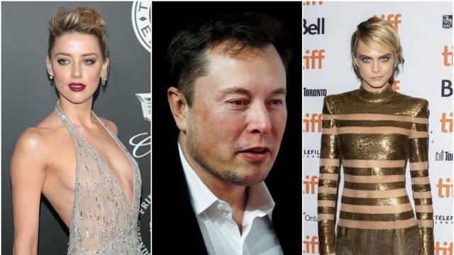 Slavni trojac: Elon Musk 'igrao' se s Deppovom ženom i Carom