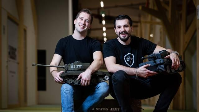 Hrvatski startup: Cijeli svijet poludio je za našim tenkićima