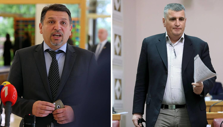 Burno u Saboru: Umalo su se potukli Miro Bulj i Lacković