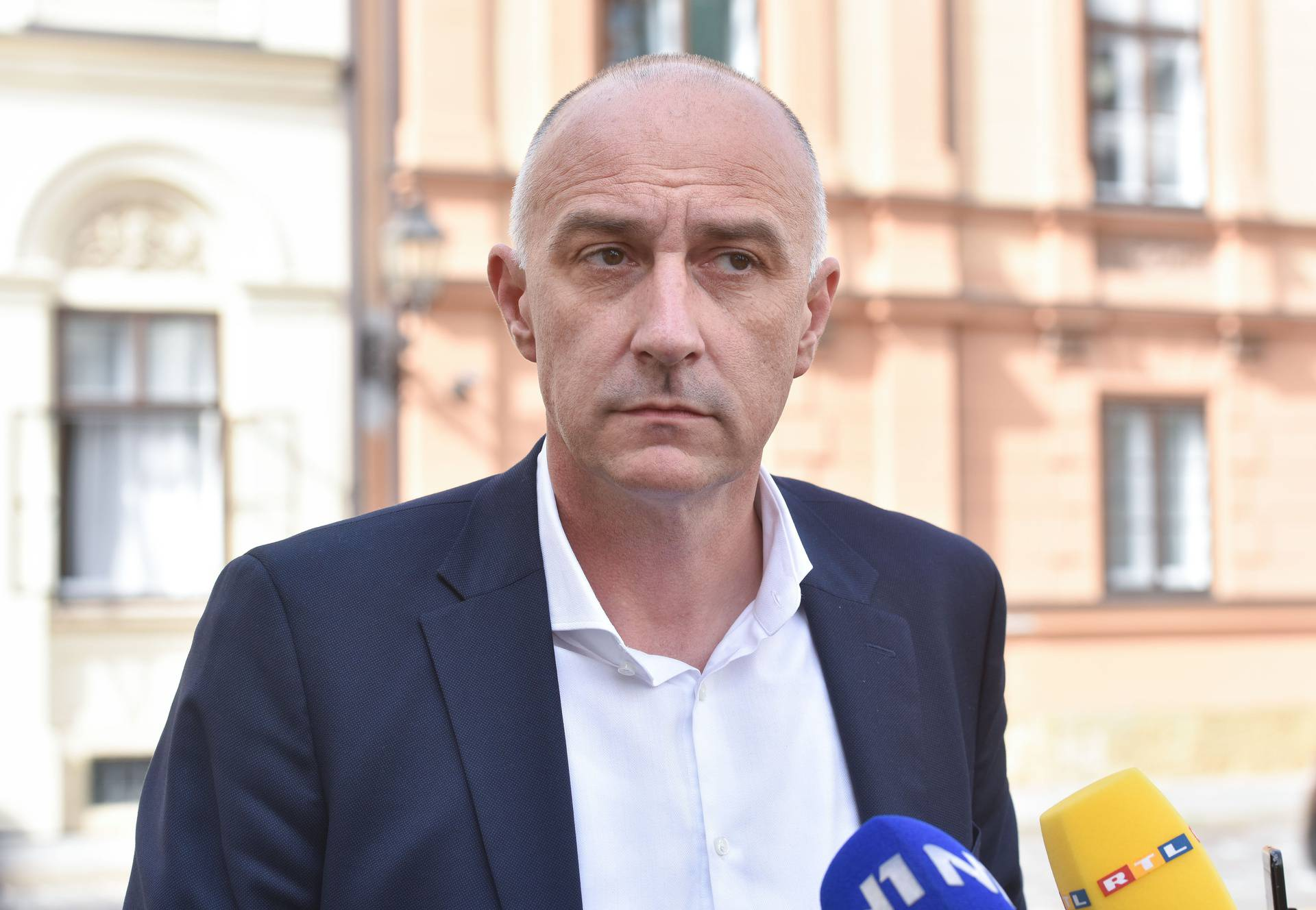 Zagreb: Dolazak članova vladajuće koalicije na sastanak o parlamentarnim izborima