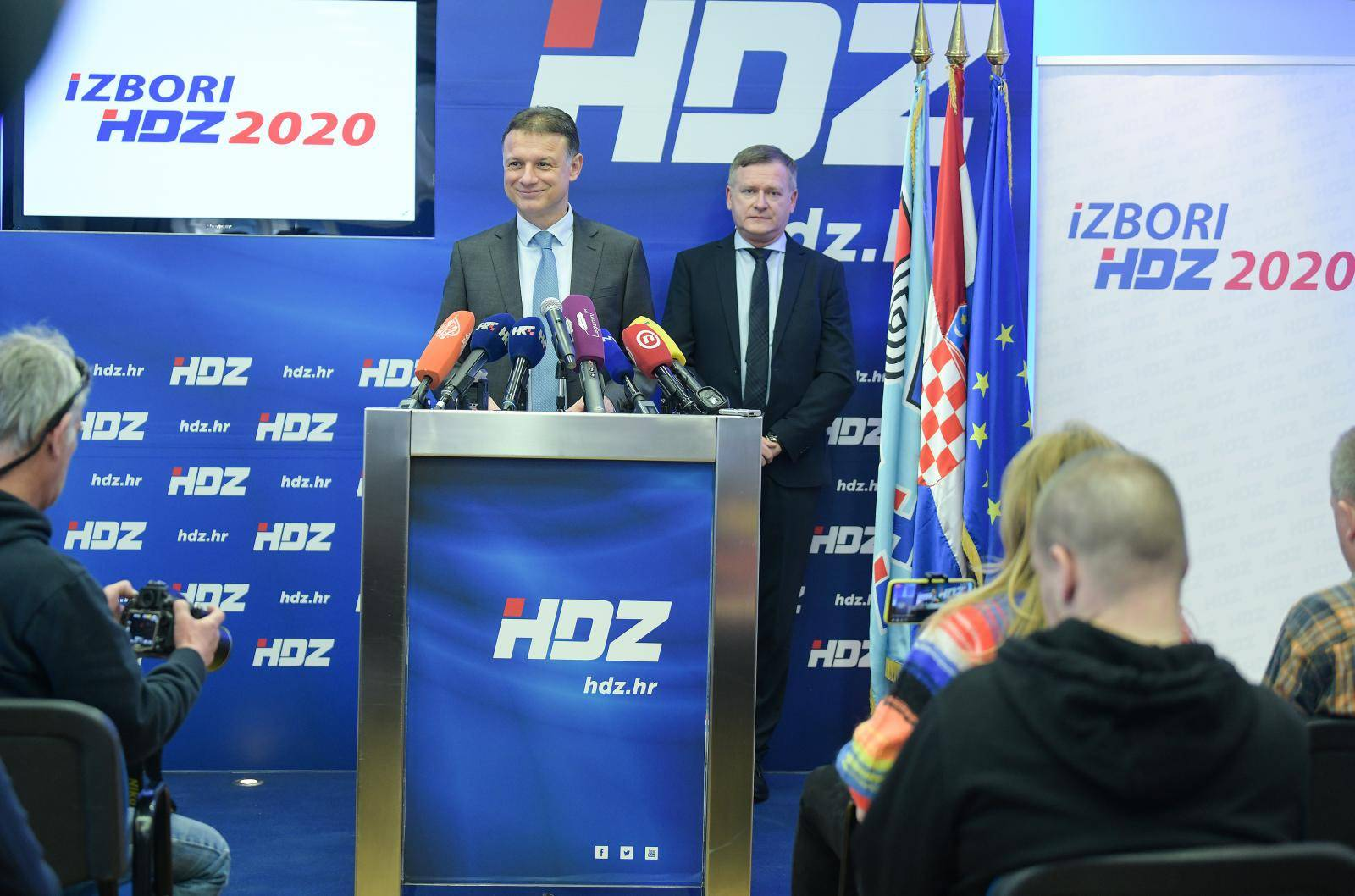 Korona ih nije zaustavila: HDZ u nedjelju bira svoje čelnike