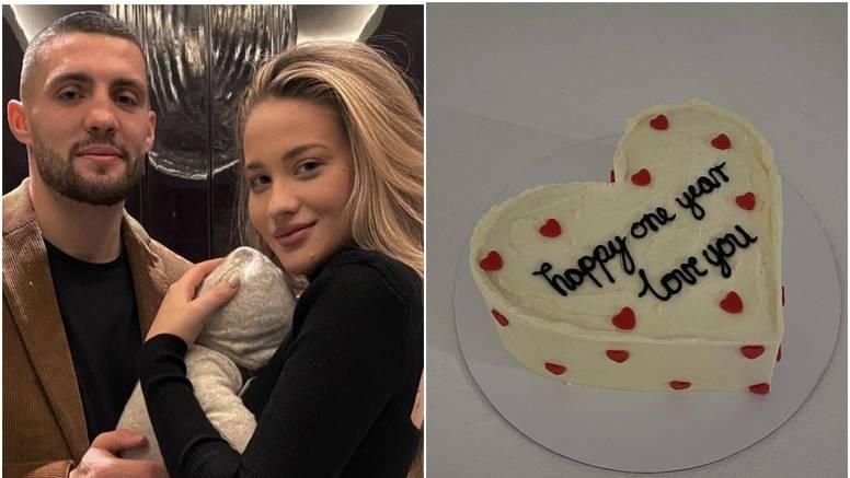 Izabel i Mateo slave prvi sinov rođendan uz jednostavnu tortu