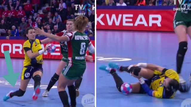 Igračice vrištale, gledatelji u suzama zbog ozljede Rumunjke