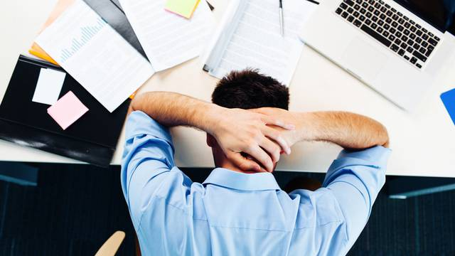 Businessman,Having,Stress,In,The,Office