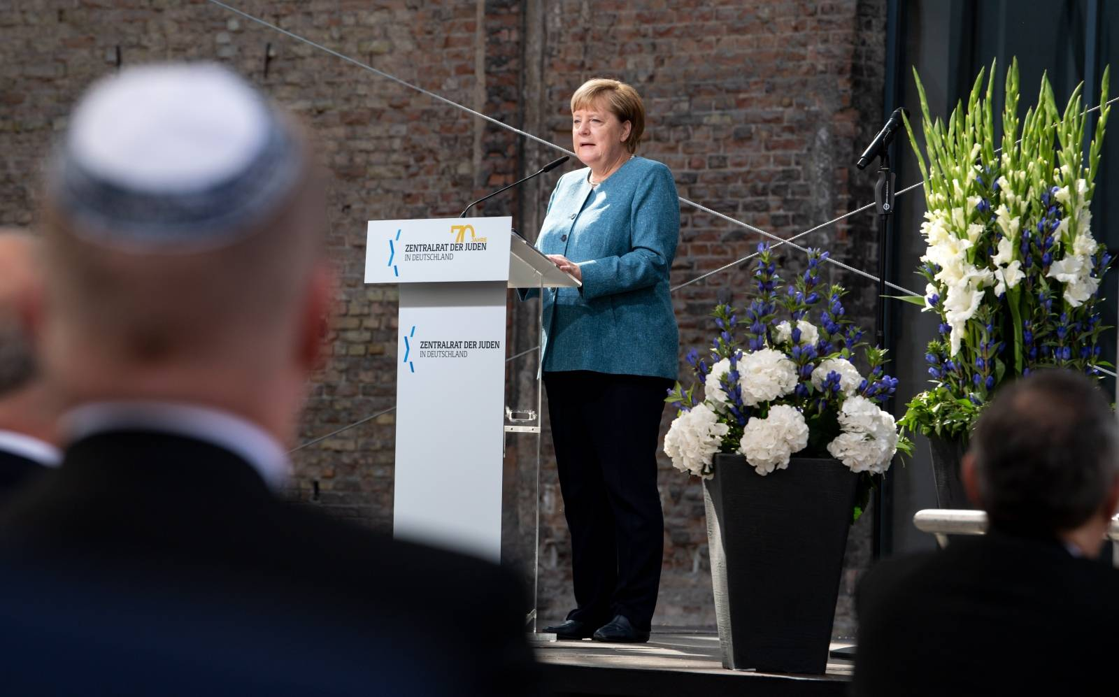 Ceremony 70 years of the Central Council of Jews in Germany