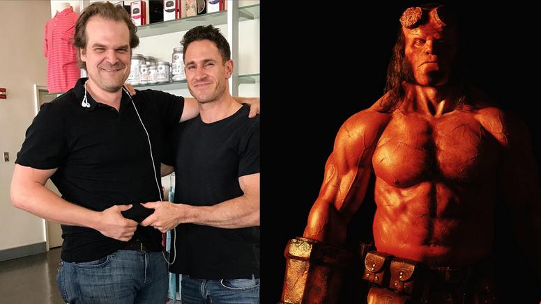 Koja pretvorba: David Harbour je od debeljka postao Hellboy