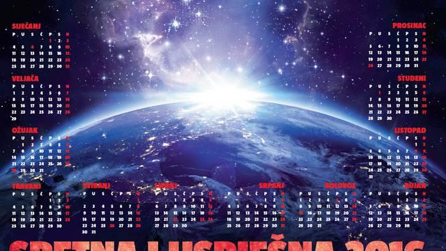 U ponedjeljak! 24sata daruje kalendar i godišnji horoskop!