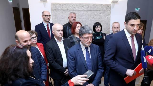 Zagreb: SDP predao kandidacijske liste za EU izbore
