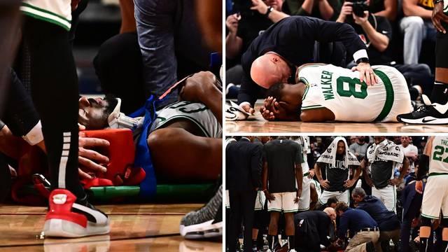 Horor u NBA-u! Nepomično je ležao, iznijeli ga na nosilima...