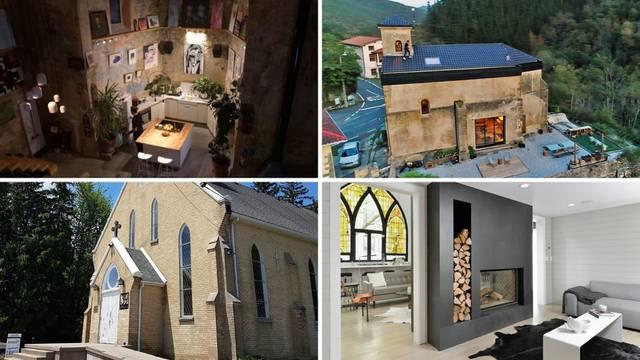 3 primjera kako se stara crkva može pretvoriti u predivan dom