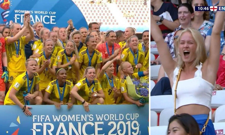 Šveđanke uzele broncu, šou je ukrala djevojka nogometašice
