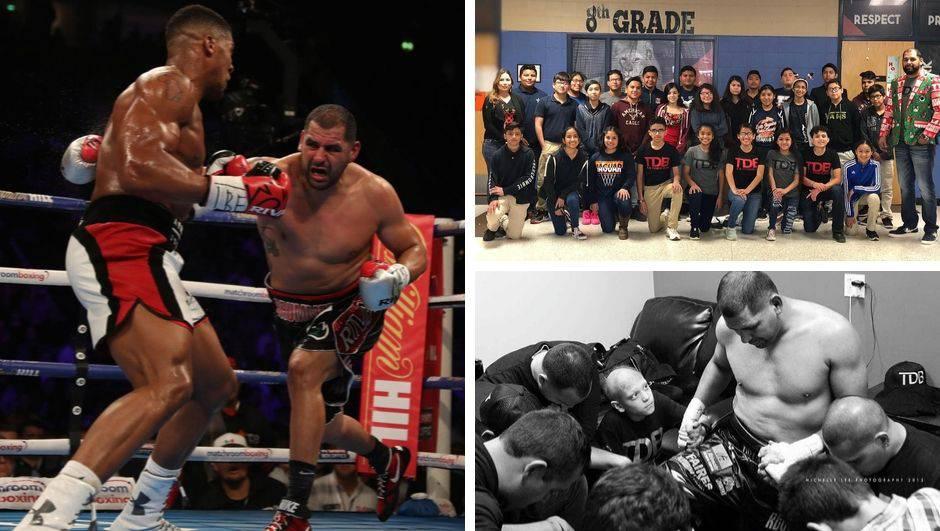 Učitelj iz Teksasa pobjegao iz boksa, a vratio ga je Don King