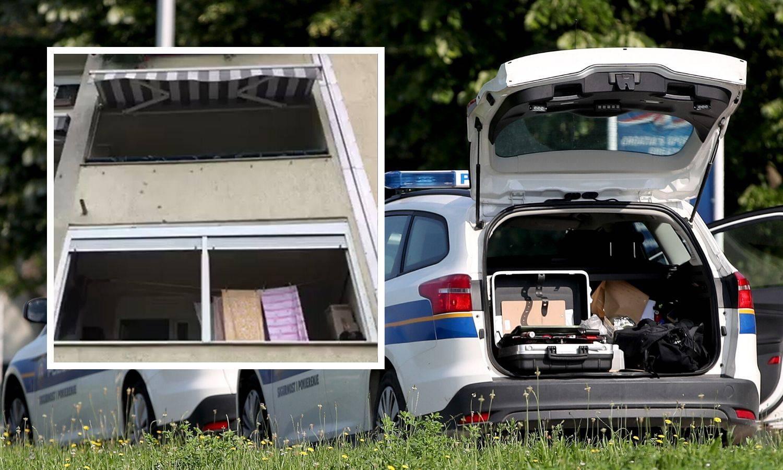 Pucnjava na Jarunu: Izrešetao im balkon, a u stanu bila  obitelj