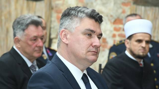 Sisak: Predsjednik Zoran Milanović povodom dana Grada Siska nazočio svečanoj sjednici