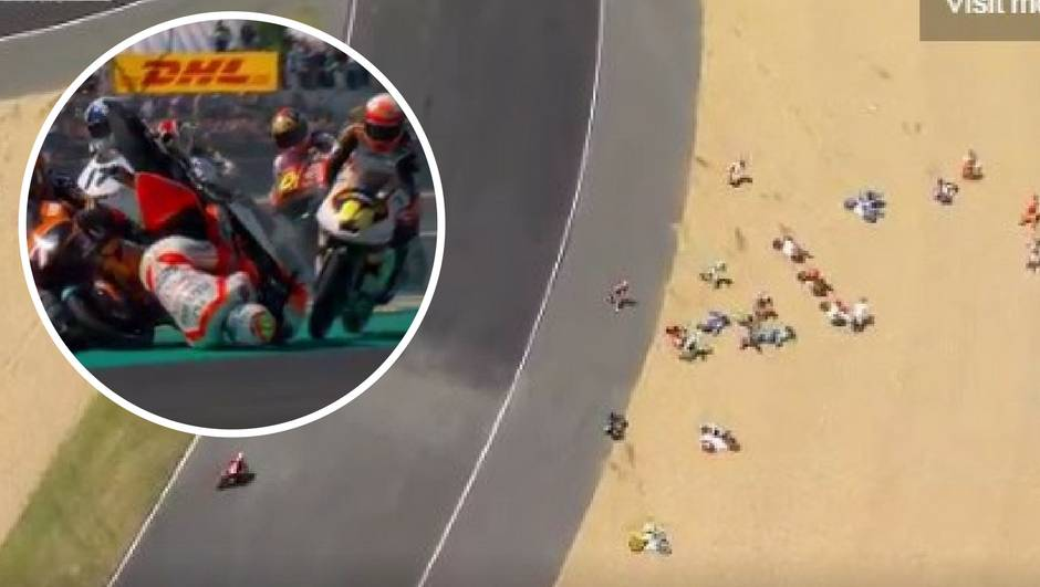 Grozne scene u Le Mansu: Pad poput ovoga nikad nije viđen!