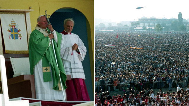 Papu  dočekalo milijun Hrvata, a on je poručio: 'Budite hrabri!'
