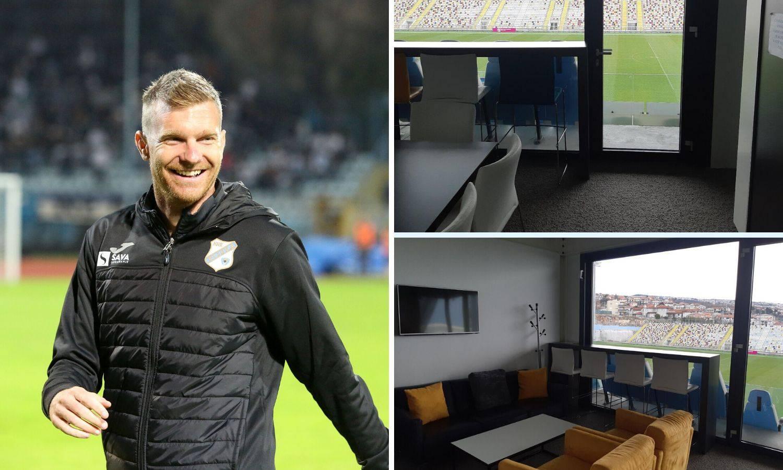 Ovo je moj dom: Rijekin trener sad živi u Miškovićevom uredu