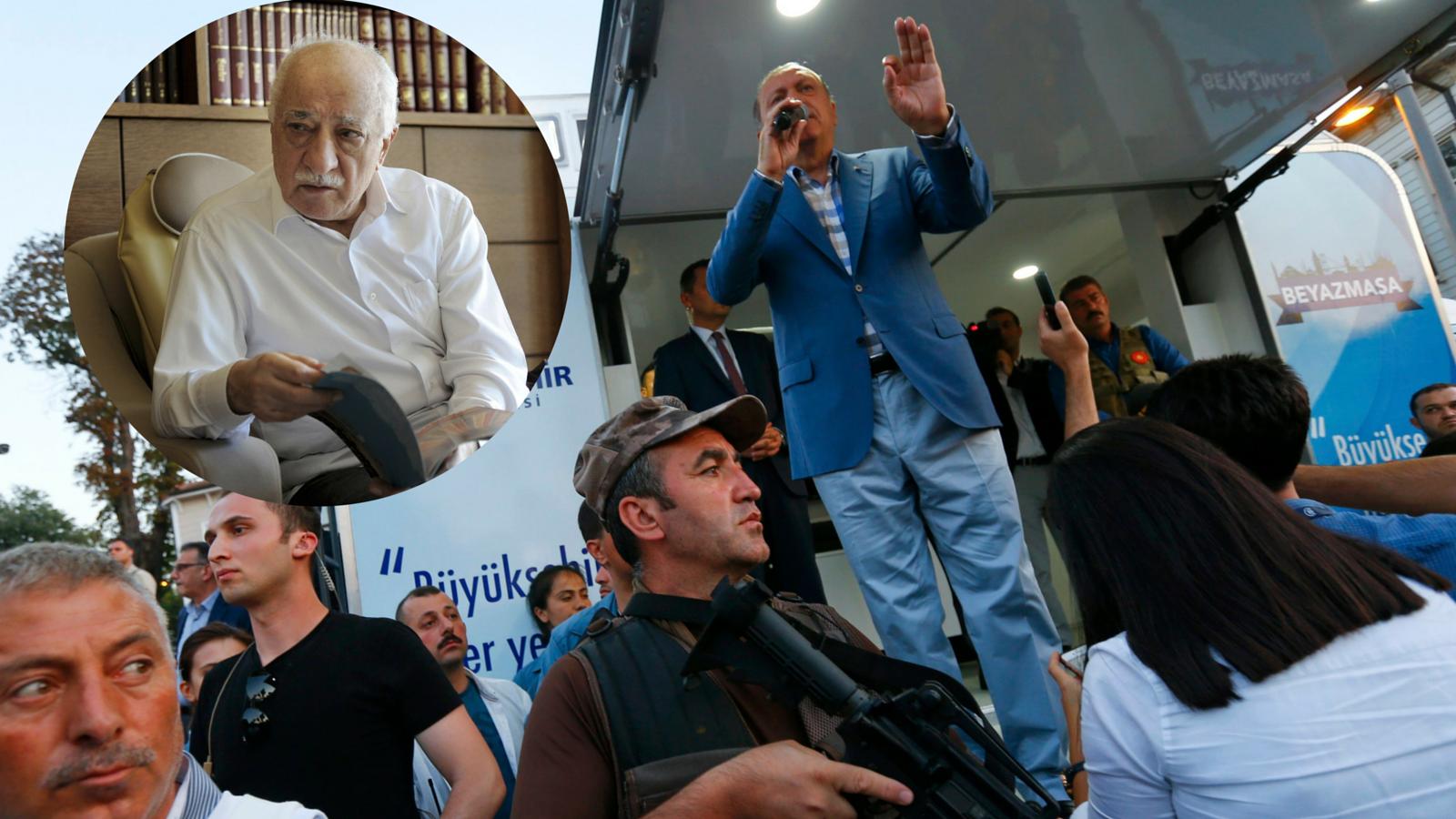 U Turskoj uhitili 6000 ljudi; Gulen: Erdogan stoji iza svega