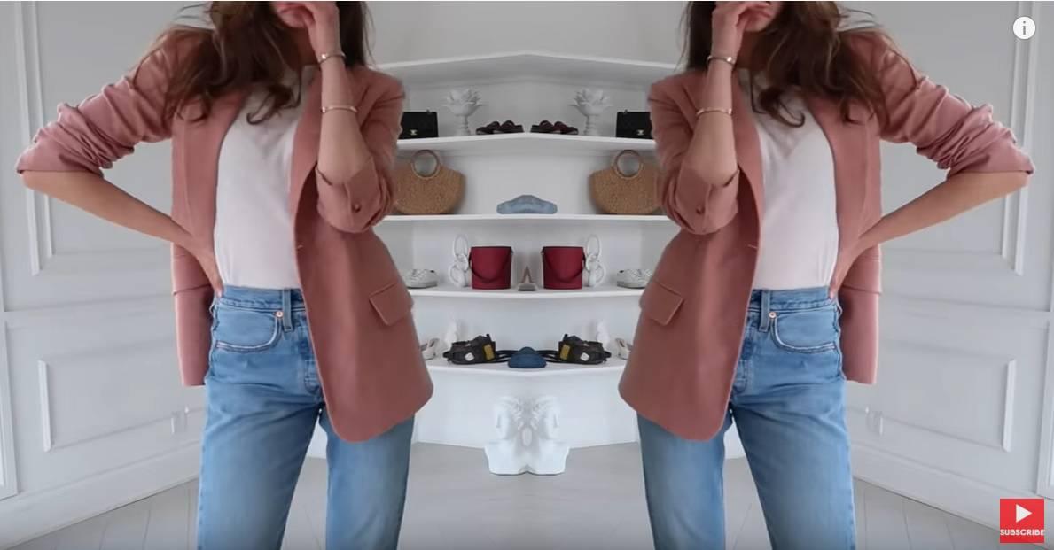 Top 6 načina kako kombinirati traperice i bijelu kratku majicu