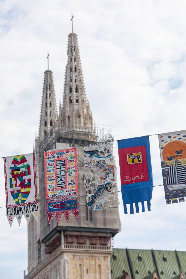 U Zagrebu se održava Festival umjetničkih zastavica