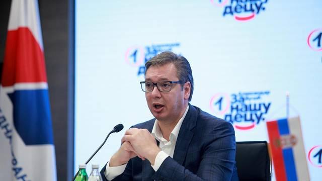 Beograd: Aleksandar Vučić nakon sjednice Predsjedništva obratio se medijima